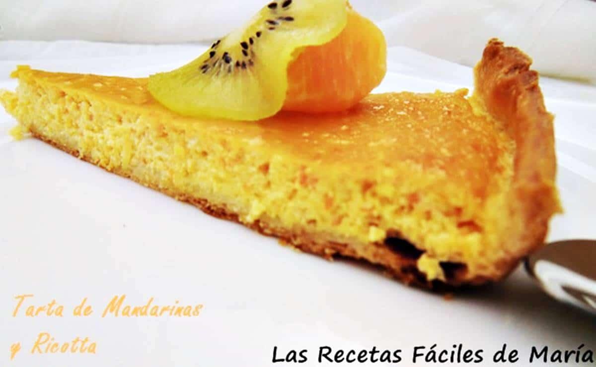 Tarta de Mandarinas y Ricotta