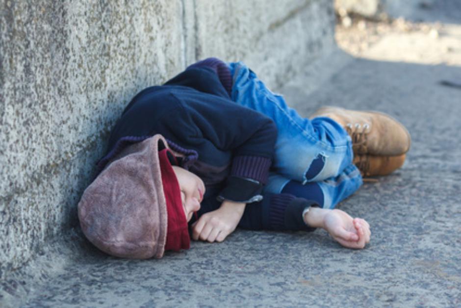 Estilo de vida de los niños refugiados