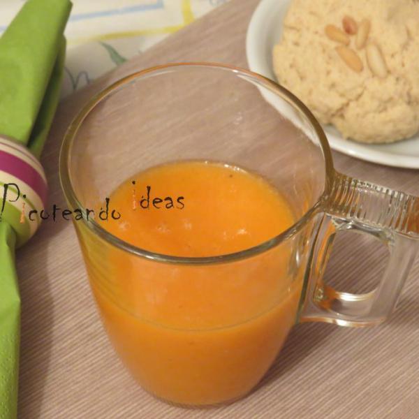 Smoothie de mango y zanahoria Bebidas para Mamas estresadas