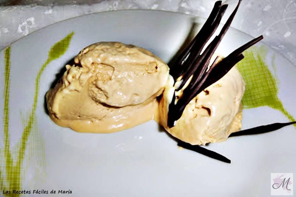 helado de dulce de leche cremoso