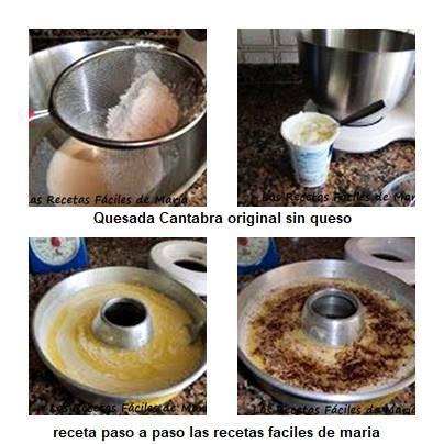 quesada cantabra original receta paso a paso