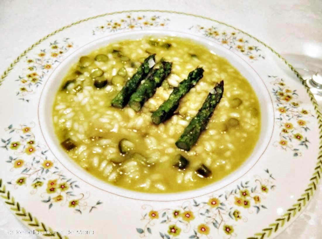 risotto de trigueros y manchego