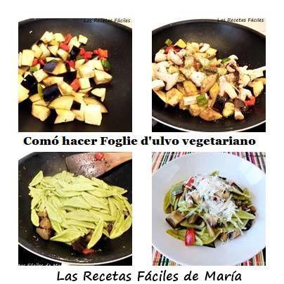 cómo hacer foglie d'ulivo vegetariano paso a paso
