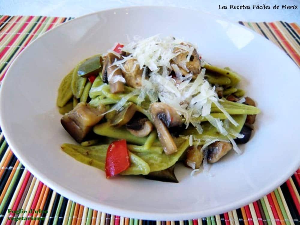 foglie d'ulivo vegetariano
