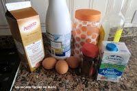 helado de carajillo o de café y brandy ingredientes