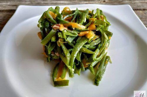 judías verdes con jamón y como cortar en juliana