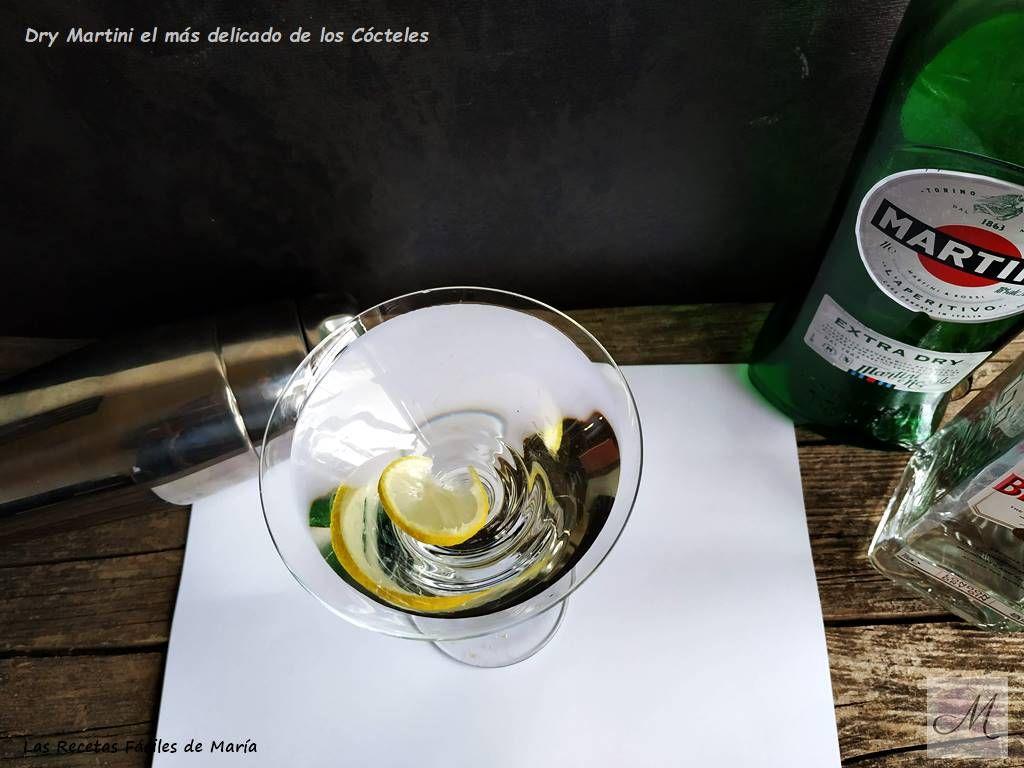 Dry Martini el más delicado de los Cócteles