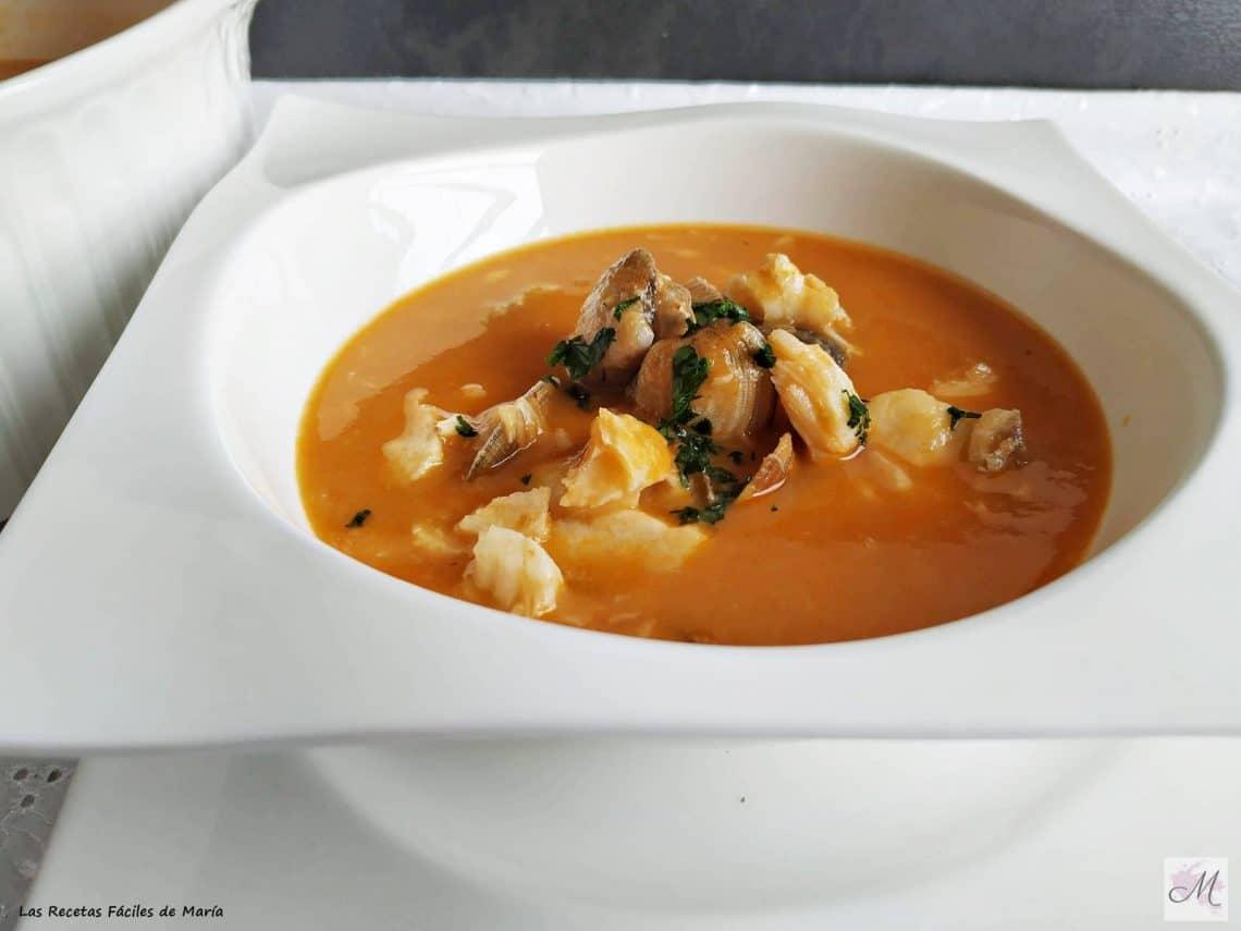 sopa de pescado mi receta para navidad o el día que tu prefieras