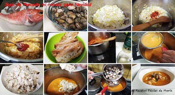 sopa de pescado mi receta para navidad elaboración