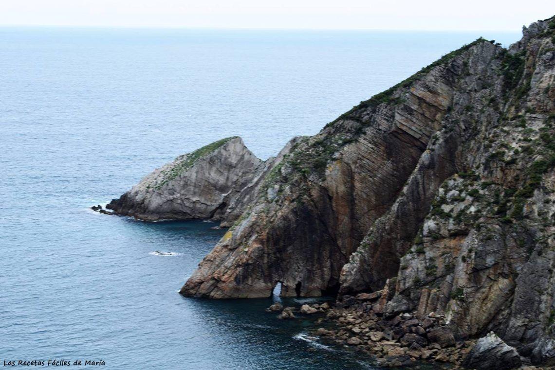 Playa de Gueirúa, Santa Marina, Cudillero, Asturias