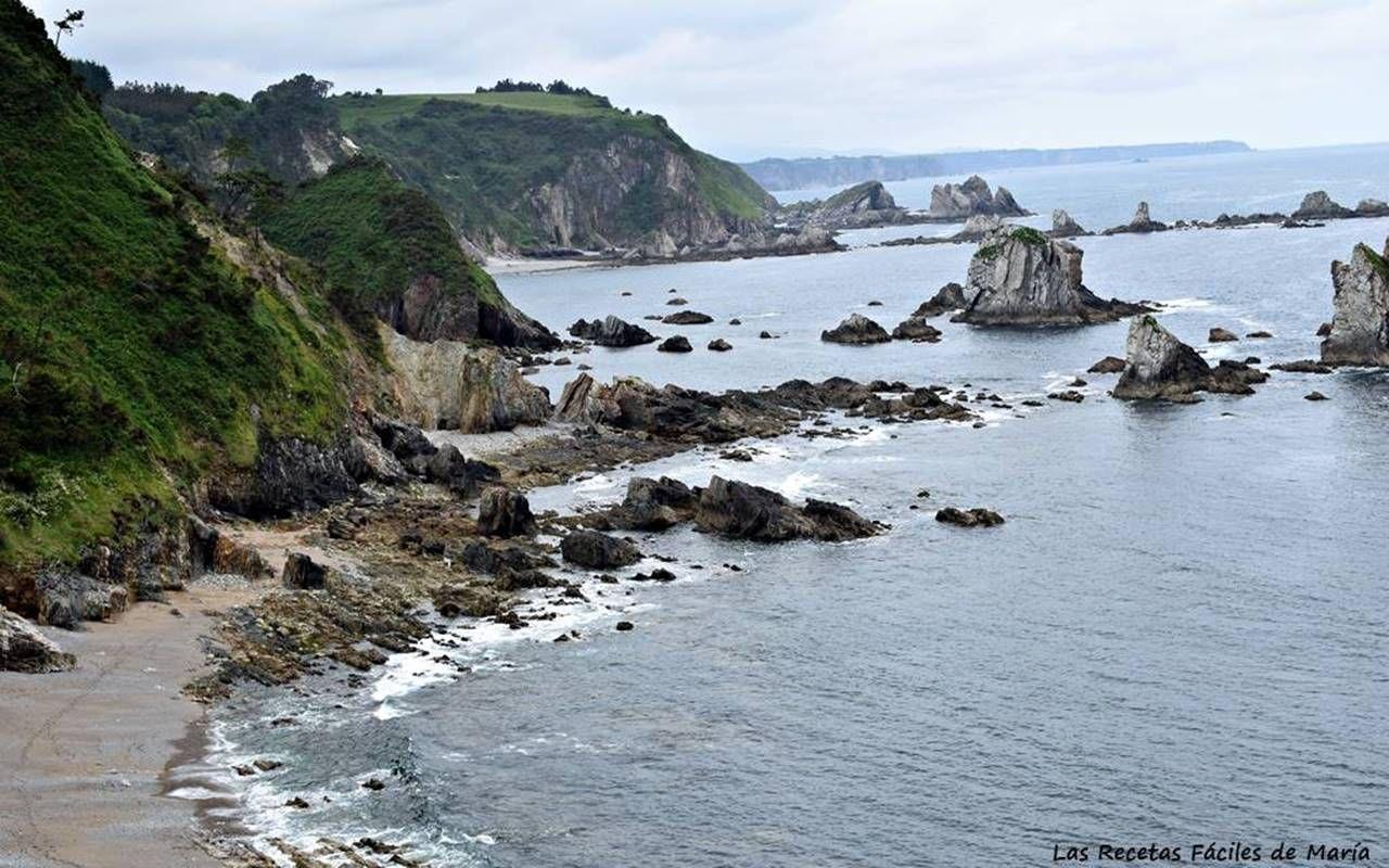 Playa y Acantilados Gueirúa Santa Maria Cudillero Asturias